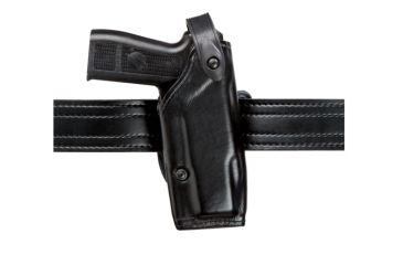 Safariland 6287 Concealment SLS Belt Holster - STX Tactical Black, Right Hand, 1.5in.Belt Loop Slot w/ Cut Outs for 1.75in., 2in. and  2.25in. Belt Loop Slot w/ 1in. Drop 6287-149-131-DM