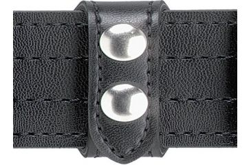 Safariland 63 Belt Keeper, Slotted, 2 Snap 63-2PBL