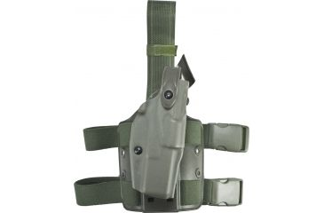 Safariland 6304 ALS Tactical Holster - OD Green, Right Hand 6304-83-561