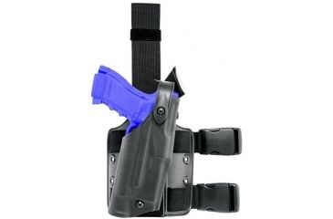 Safariland 6304 ALS Tactical Holster - STX TAC Black, Left Hand 6304-97-132