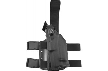 Safariland 6304 ALS Tactical Holster - STX Tactical Black, Left Hand  6304-560-132