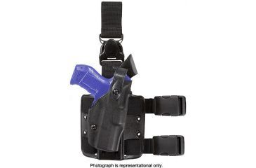 Safariland ALS Tactical Holster with Quick Release Leg Harness Base Model