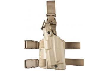 Safariland 6305 ALS Tactical QR Holster - STX FDE Brown, Left Hand - Glock 20/21 w/Light