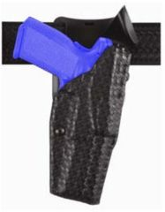 Safariland Model 6325 ALS; Duty Holster - STX Basket Weave, Left Hand 6325-79-482
