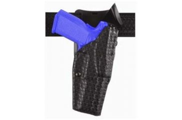 Safariland Model 6325 ALS; Duty Holster - STX Basket Weave, Right Hand 6325-383-481