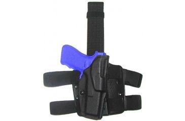 Safariland 6354 ALS Tactical Thigh Holster - STX Tactical Black, Right Hand 6354-3832-131