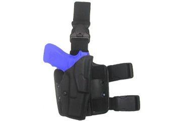 Safariland 6355 ALS Tactical Thigh Holster - STX Black, Right Hand 6355-744-131