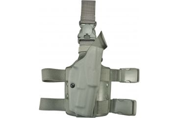 Safariland 6355 ALS Tactical Thigh Holster, STX Foliage Green, Right Hand, Springfield .357
