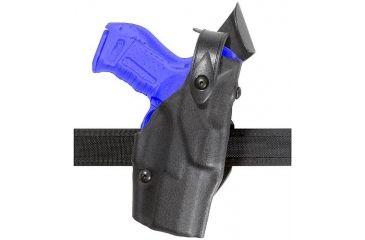 Safariland 6361 ALS Belt Slide Holster w/ SLS - Plain Black, Left Hand 6361-744-62