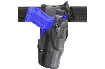 Safariland 6365 ALS Level II Plus w/ Drop UBL Holster - Hi Gloss Black, Left Hand 6365-83-92