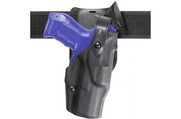Safariland 6365 ALS Level III w/ Drop UBL Holster - Hi Gloss Black, Left Hand