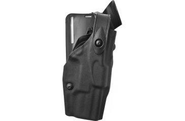 Safariland 6365 ALS LV3 Drop UBL Holster, Right, STX TAC Black, Sentry/Hood - Spring XD 9mm