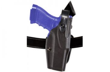 Safariland 6367 ALS Belt Slide Holster - Plain Black, Left Hand