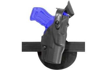 Safariland 6368 ALS Paddle Holster w/ SLS - Plain Black, Right Hand 6368-84-61