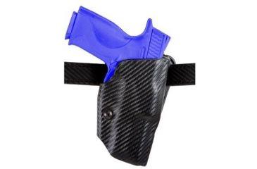 Safariland 6377 ALS Belt Holster - STX Plain Black, Left Hand 6377-295-652
