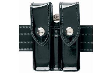 Safariland 72 ComboEdge Pouch/Hndcff & Db Mag Hi-Gloss Black Glk 20 21 72-383-9