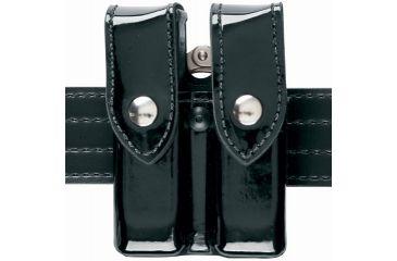 Safariland 72 Mag/Cuff Pouch, Top Flap - STX Plain Black, Ambidextrous 72-83-4B