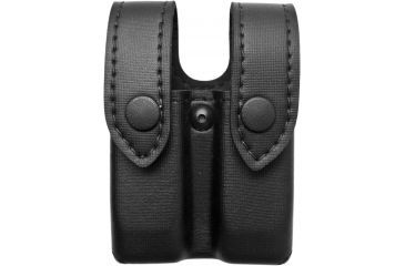 Safariland 72 Magcuff Pouch Top Flap Black Nylon Look Ambidextrous Ds Mz 72 76 22pbl