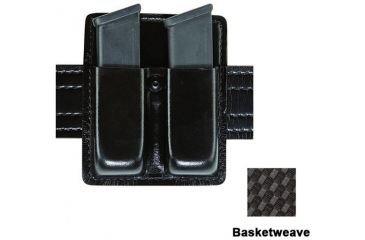 Safariland 73 Double Duty Mag Pouch w/out Flaps, BW, RH 73-76-91