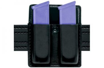 Safariland 75 Double Mag Pouch Without Flaps - STX Plain Black, Ambidextrous