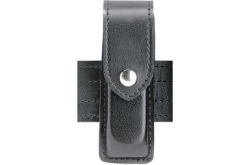 Safariland 76 Single Handgun Magazine Pouch - Basket Black, Ambidextrous 76-76-4HS