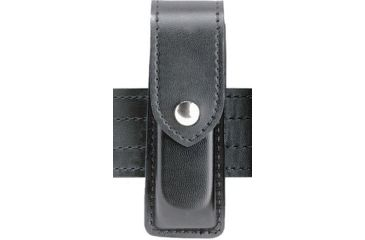 Safariland 76 Single Handgun Magazine Pouch - Hi Gloss Black, Ambidextrous 76-53-9HS