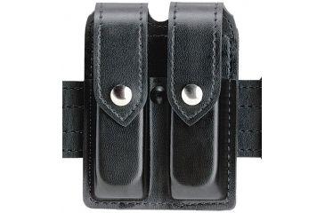 Safariland 77 Double Handgun Magazine Pouch - Black, Nylon-Look, Ambidextrous