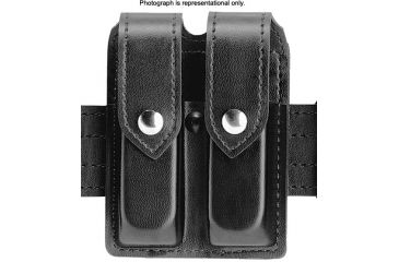 Safariland 77 Double Handgun Magazine Pouch - STX Tactical Black, Ambidextrous 77-419-13PBL
