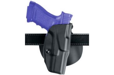 Safariland ALS Paddle Holster, Right Hand, STX FDE Brown MLS 15 and MLS 18 attached 6378-77-551-MS28