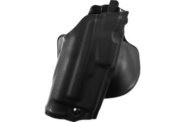 Safariland ALS Paddle Holster, Right Hand, STX Plain Black 1.5in. Belt Slots w/Cut Outs for 1.75in., 2in. and 2.25in. Belt Slops with 1in. Drop 6378-832-411-DM