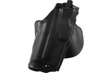 Safariland ALS Paddle Holster, Right Hand, STX Plain Black 2in. Belt Slots 6378-832-411-50