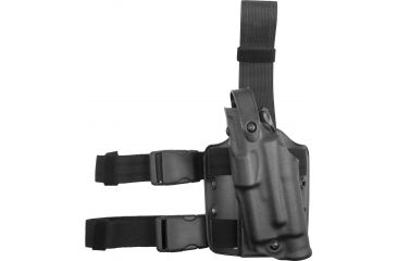Safariland ALS Tactical Holster, Left  STX Tactical Black 6304832132S