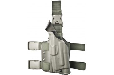Safariland ALS Tactical Thigh Holster - OD Green, Left 6355-2832-562