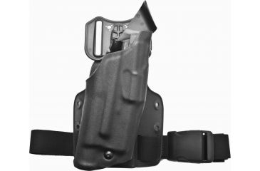 Safariland Als Tactical Thigh Holster Right Hand Stx Tactical Black Dfa On Single Leg Strap 6354 2832 131 Ms25