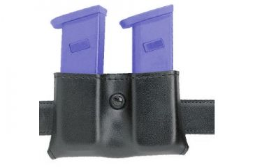 Safariland 079 Concealment Magazine Holder, Snap-On, Double - Plain Black, Ambidextrous 079-118-6