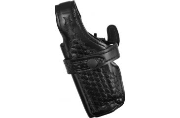 Safariland Duty Holster, SSIII Mid-Ride, Level III Retention - Basket Black, Left 070777182