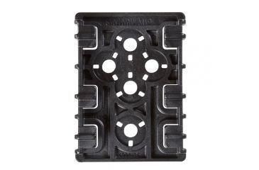 2-Safariland ELS 35 Receiver Plate, Black 6004-35-2