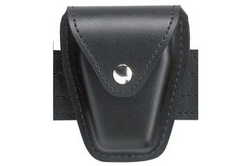HANDCUFF POUCH PL.BLK.VEL.HING