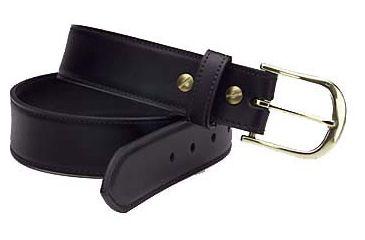 1-Safariland L830 Plainclothes Belt, Leather, 1.50 L830-XX-2C