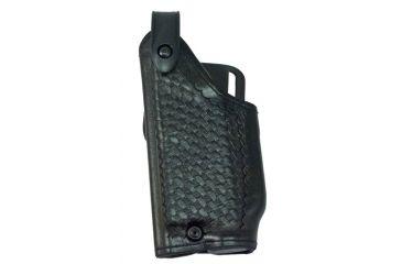 Safariland 6280 Level II Retention, Mid-Ride Holster - Basket Black, Left Hand, Glock 20, 21 w/ Tactical Light 6280-3837-82