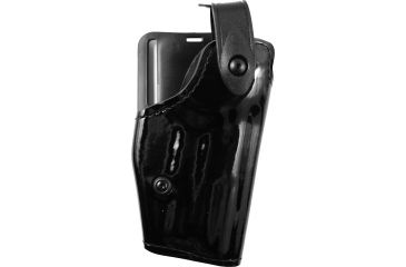 Safariland 6280 Level II Retention, Mid-Ride Holster - Hi Gloss Black, Right Hand 6280-74-91