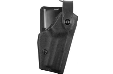 Safariland Level II Retention, Mid-Ride Holster - STX TAC Black, Right 628074131