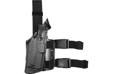 Safariland Military Thigh Holster, STX Tac Black, Ambidextrous 308473131