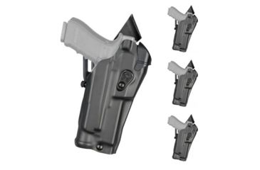 Safariland 6390-53-131 Black STX Tactical RH Duty Holster Colt 1911 Govt