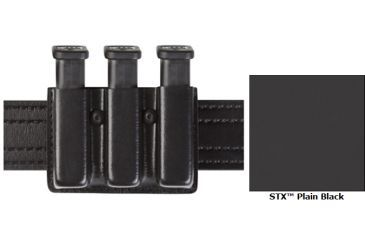 Safariland Model 775 Slim Triple Mag Pouch Open Top STX Plain SW 59 Ber 92 775-76-41