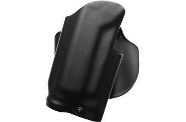 Safariland 5188 Pistol Paddle Holster, STX Plain Black, Right Hand - Light-Equipped Beretta 92F/96 - 5188-73421-411