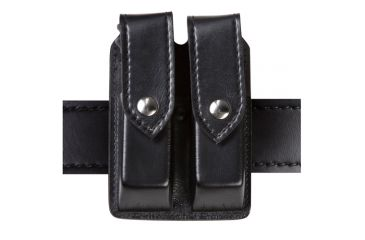 Safariland Quad Magazine Holder, STX Basket Weave, Black, Hidden Fastener 277-1053-4HS