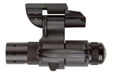 4-Safariland Weapon Light Mount Flashlight with AAA batteries