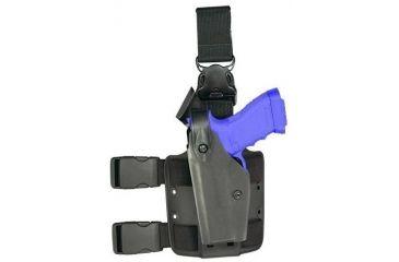Safariland 6005 SLS Holster w/ Quick Release Leg Harness - Tactical Black, Left Hand, Beretta Pistols 6005-7