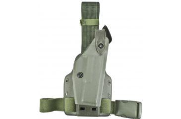 Safariland 6004 SLS Tactical Holster - OD Green, Right Hand 6004-83-561